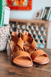 GOOD CHOICE: That Comfy Walk Sandals - Elastic - Tan
