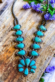 AUTHENTIC TURQUOISE STONE - Sioux Necklace