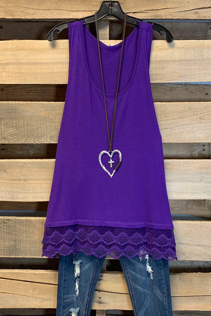 Extender: Slip on Tank/Tunic - Purple