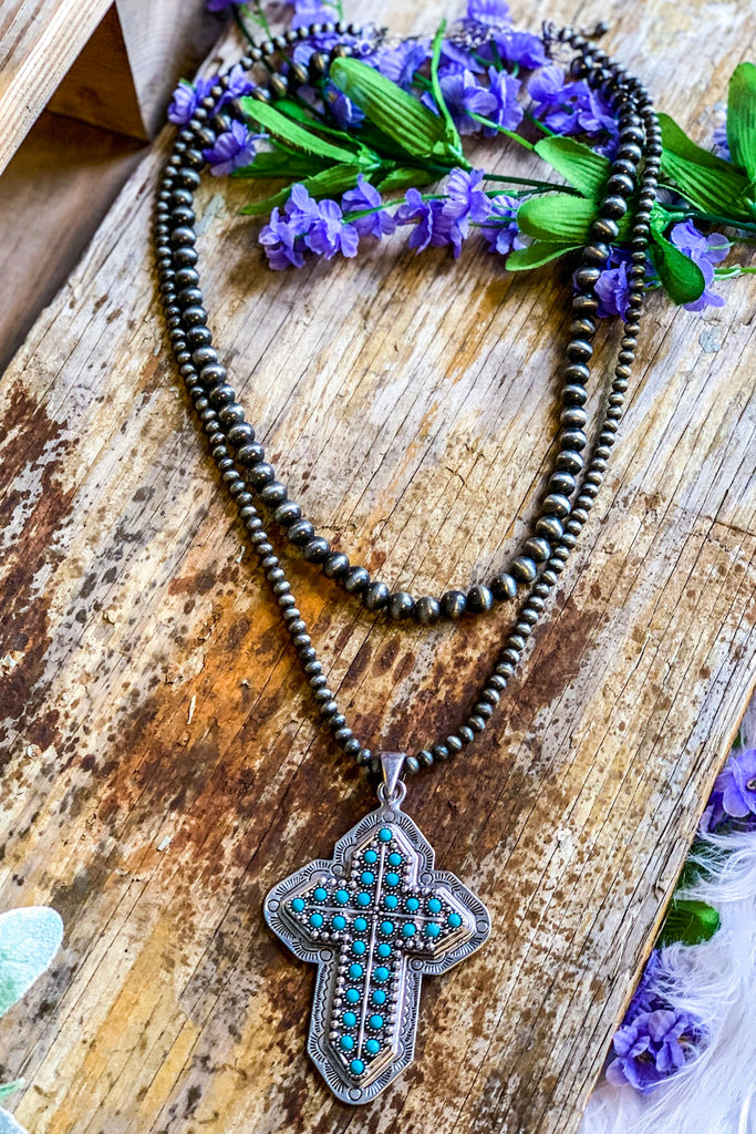 AUTHENTIC TURQUOISE STONE - Kryo Necklace