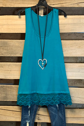Extender: Slip on Tank/Tunic - Mint