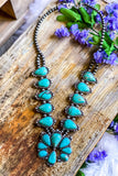 AUTHENTIC TURQUOISE STONE - Chata Necklace