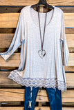 Any Occasion Tunic - Heather Gray