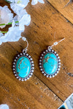 AUTHENTIC TURQUOISE STONE: Donavan Earrings