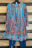 Sweet Like Sunday Morning Tunic - Jade