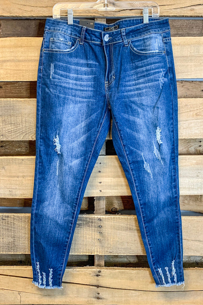 Midwash Ankle Skinny Jeans