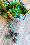 Love Like Mine Necklace - Turquoise