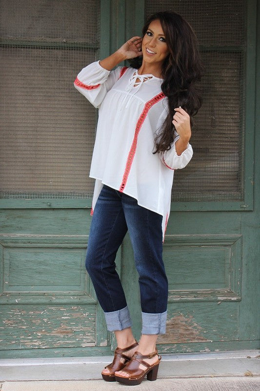 So Comfy So Cool Jeans - Dark - L&B - Pants - Angel Heart Boutique  - 1
