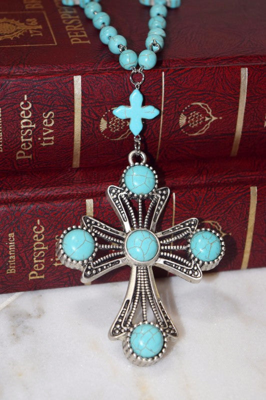 Cross To My Heart Necklace [product type] - Angel Heart Boutique