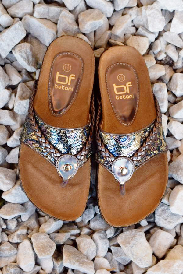 Wild Shine Flat - Pewter - (Only 6 & 5.5 Left) - Angel Heart Boutique - Shoes - Angel Heart Boutique  - 5