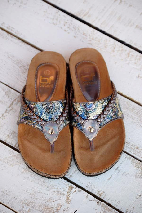 Wild Shine Flat - Pewter - (Only 6 & 5.5 Left) - Angel Heart Boutique - Shoes - Angel Heart Boutique  - 9