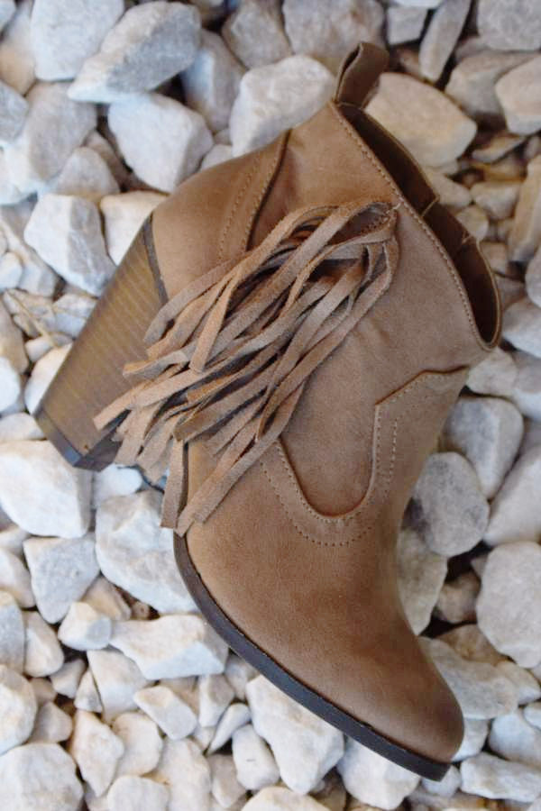 The Lonestar Booties - Taupe - Angel Heart Boutique - Booties - Angel Heart Boutique  - 2