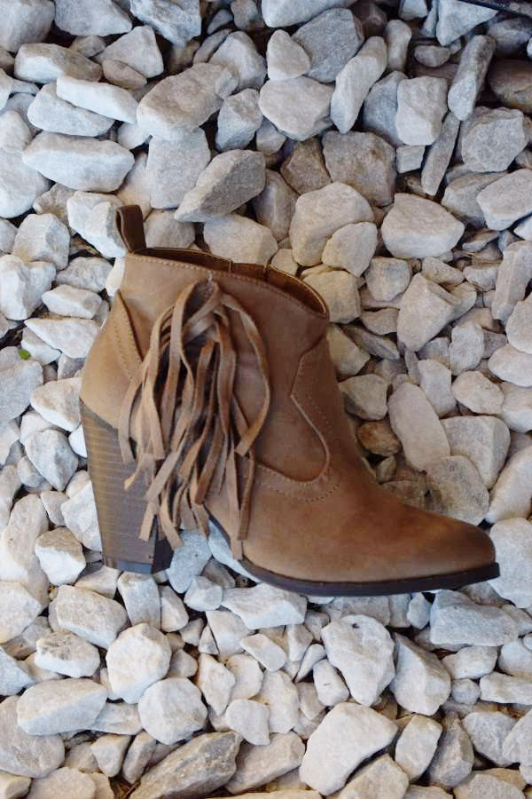 The Lonestar Booties - Taupe - Angel Heart Boutique - Booties - Angel Heart Boutique  - 5