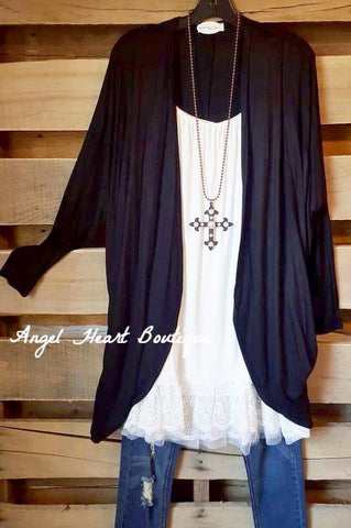 AHB EXCLUSIVE: Give You A Moment Cardigan - Black