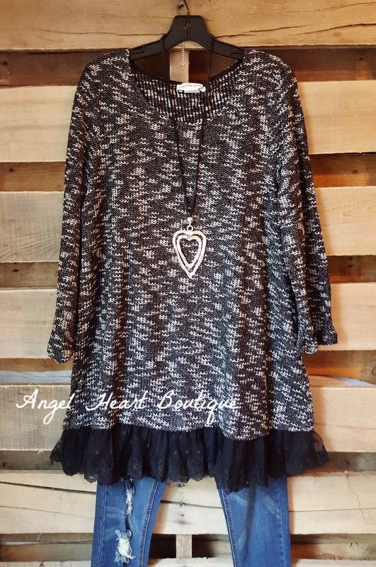 Seemingly Perfect Sweater - Black - Angel Heart Boutique - Sweater - Angel Heart Boutique  - 2