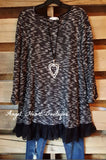 Seemingly Perfect Sweater - Black - Angel Heart Boutique - Sweater - Angel Heart Boutique  - 1