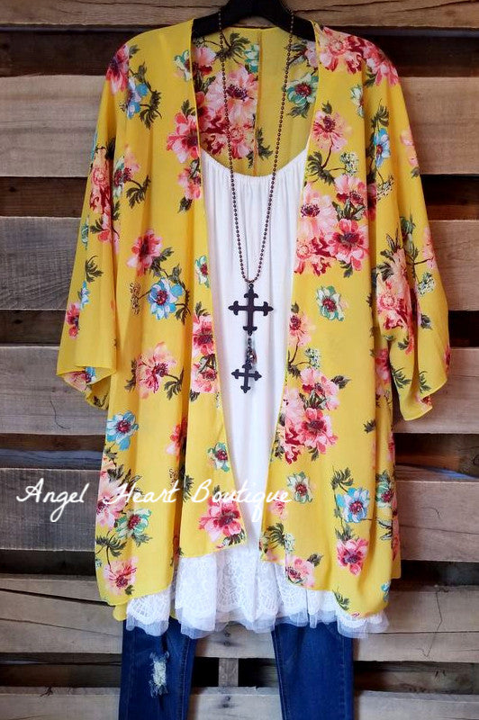 Wishing For Wonderful Cardigan - Yellow
