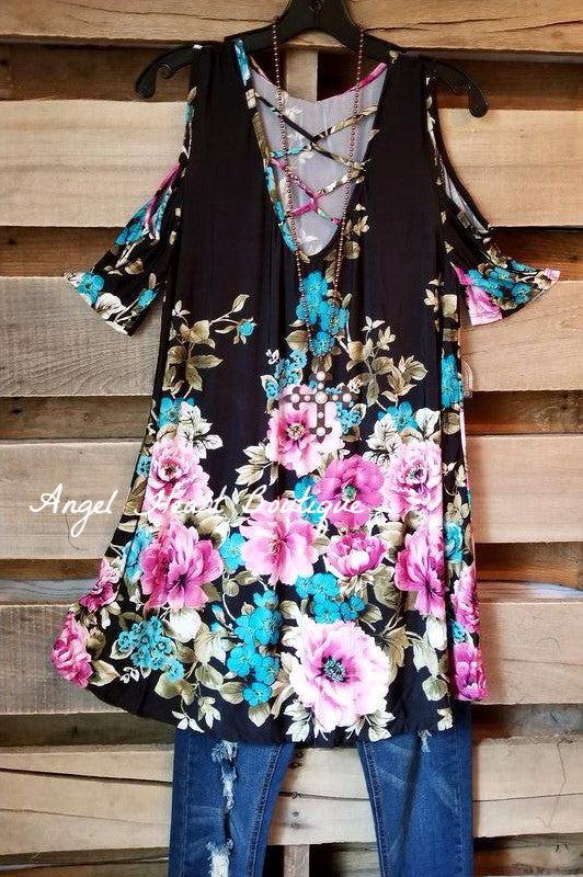 On The Rise Tunic - Black - SALE
