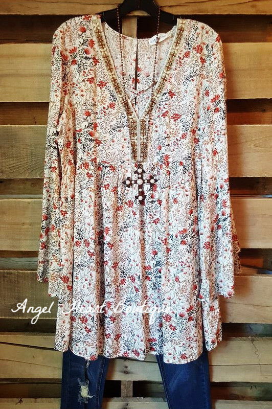 Like a Dream To Me Dress - Cream - Umgee - Dress - Angel Heart Boutique  - 1