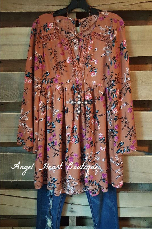 Crazy In Love Dress - Rust - Angel Heart Boutique - Dress - Angel Heart Boutique  - 1