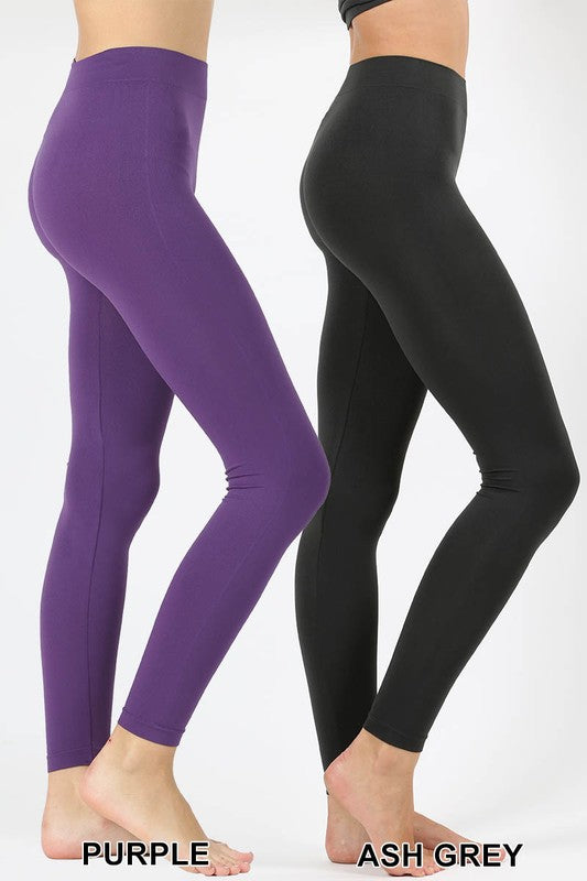 High Waist Leggings - Multi [product type] - Angel Heart Boutique