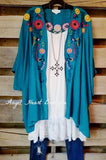 So Into You Cardigan - Turquoise [product type] - Angel Heart Boutique