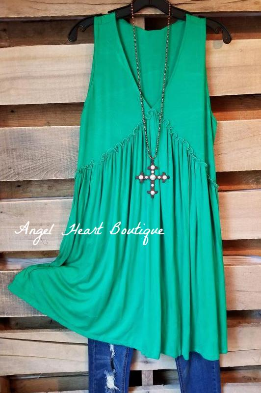Get Your Groove On Tunic - Navy - Sassylook - Tunic - Angel Heart Boutique