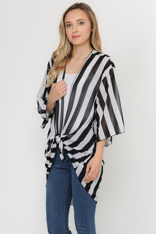 Classic Lines Cardigan [product type] - Angel Heart Boutique