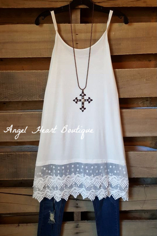 So Sweet Slip On Dress - Off White - fashionomics - Slip on - Angel Heart Boutique