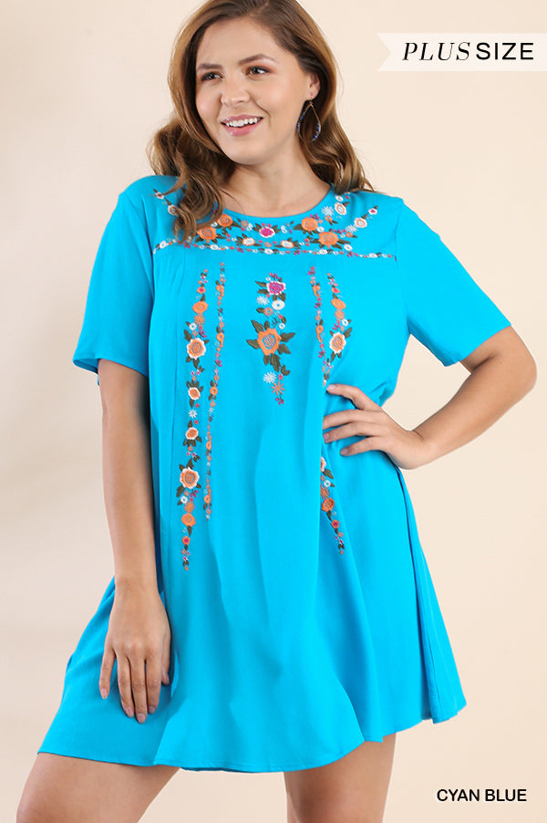 Like A Dream To Me Dress - Blue [product type] - Angel Heart Boutique