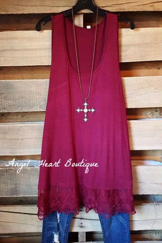 Extender: Slip on Tank/Tunic - Gray