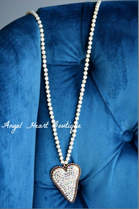 Key To My Heart Necklace - Natural [product type] - Angel Heart Boutique