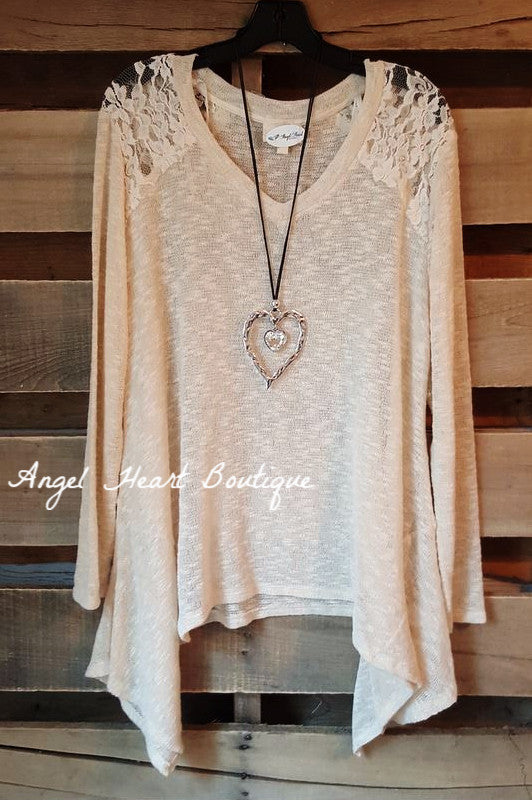 Somewhere Out There Sweater - Natural - Blu Pepper - Sweater - Angel Heart Boutique  - 3