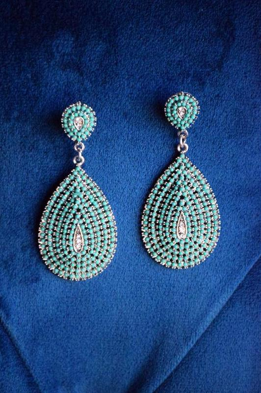 All You Need Earrings - Turquoise [product type] - Angel Heart Boutique