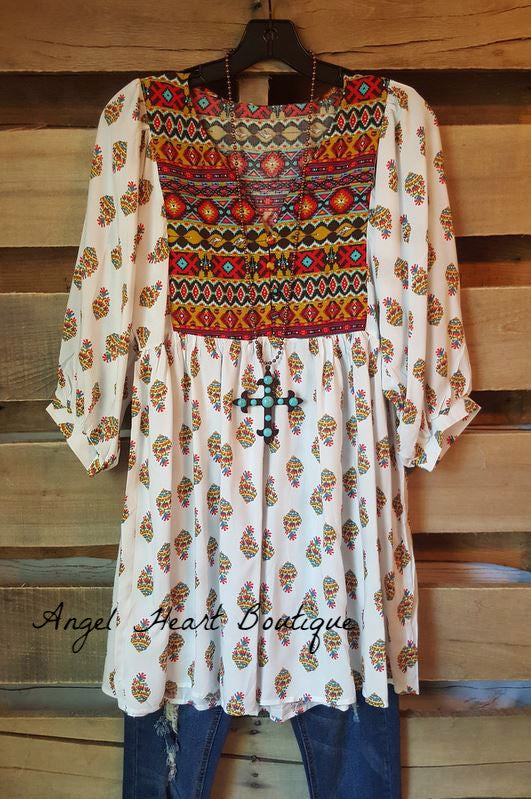 Navajo Moon Tunic - SALE - Angel Heart Boutique - Dress - Angel Heart Boutique  - 7