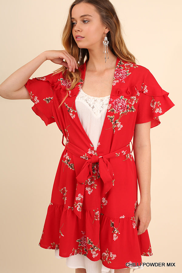 Spain Summer Affair Kimono [product type] - Angel Heart Boutique