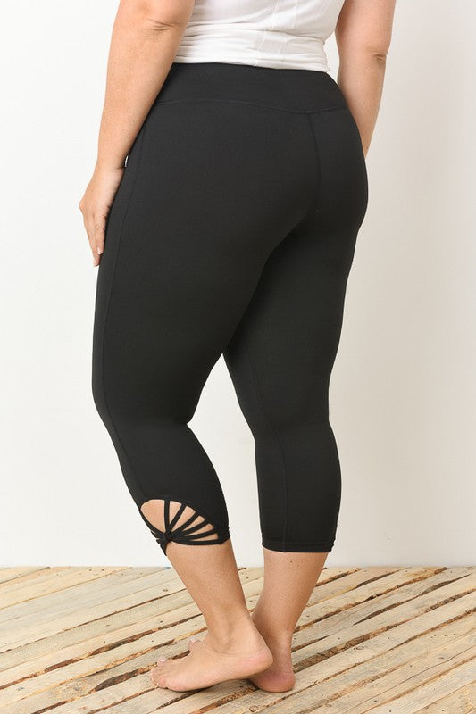Wild Twist Legging - Black [product type] - Angel Heart Boutique