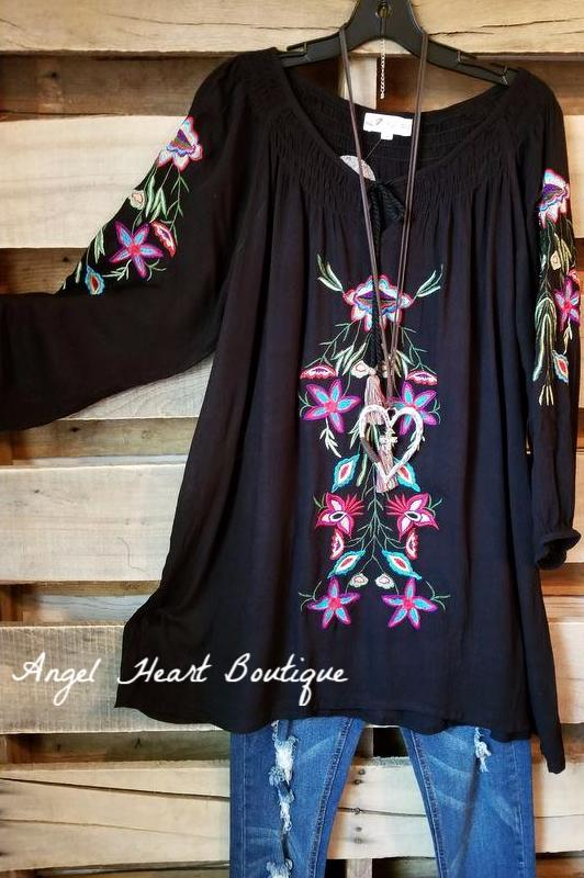 I Could Be The One Top - Black [product type] - Angel Heart Boutique