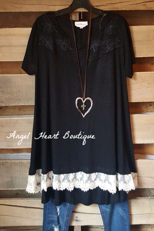 Fearless Intuition Top - Black [product type] - Angel Heart Boutique