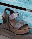 As Comfy As It Gets Wedge - Pewter