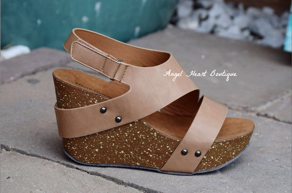 Classy & Comfy Wedge - Taupe