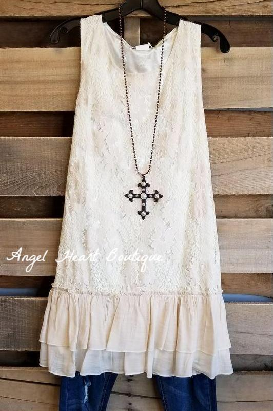 Dressed To Impress Dress - Beige [product type] - Angel Heart Boutique