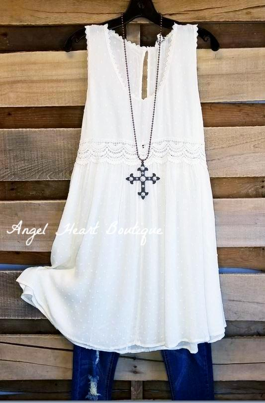 Sweet As It Gets - Off White - SALE [product type] - Angel Heart Boutique