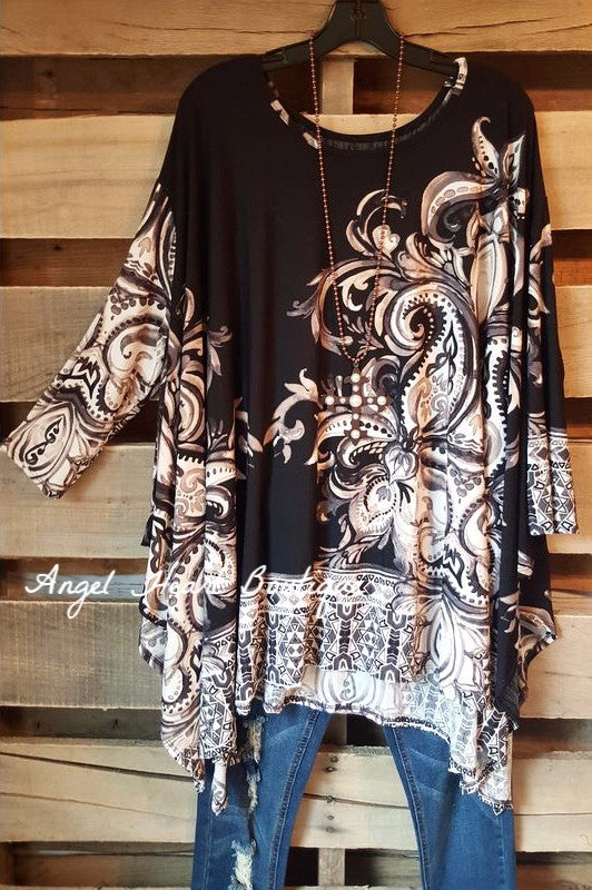 Secrets in Your Style Tunic - Black