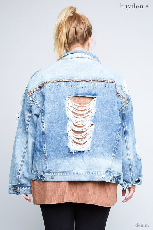 My Identity Jacket - Denim [product type] - Angel Heart Boutique