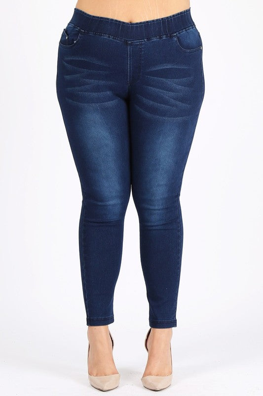 Always Bustling Jeans - Denim Blue
