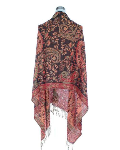Forever Enchanted Scarf - Red/Black