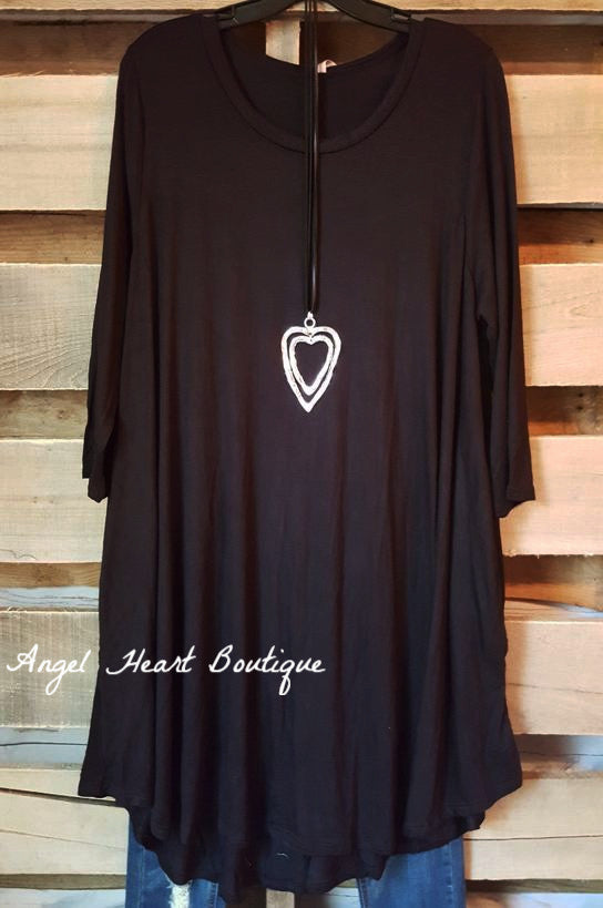 Wine & Dine Dress - Black - Angel Heart Boutique - Dress - Angel Heart Boutique  - 4