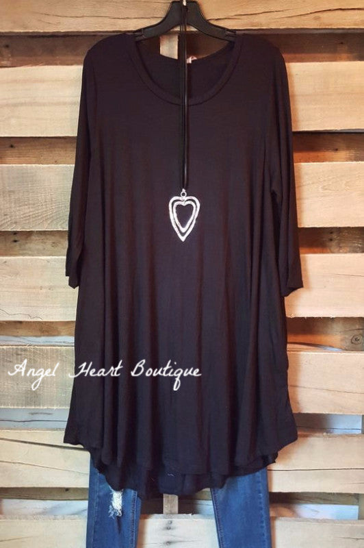 Wine & Dine Dress - Black - Angel Heart Boutique - Dress - Angel Heart Boutique  - 1
