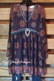 Stop & Stare Dress - Navy - Angel Heart Boutique - Dress - Angel Heart Boutique  - 2